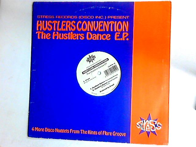 The Hustlers Dance EP 12in by Hustlers Convention