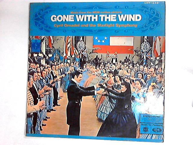 """Music From The MGM Motion Picture Release """"Gone With The Wind"""" LP by The Starlight Orchestra"""