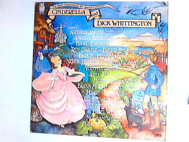 The Stars Organisation For Spastics Present Cinderella And Dick Whittington LP by Various