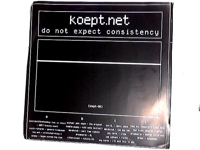 Do Not Expect Consistency 2 x LP by Various