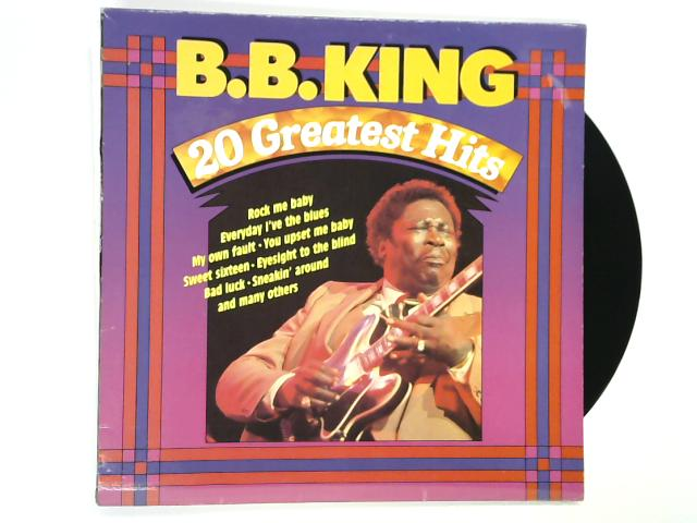 20 Greatest Hits LP by B.B. King