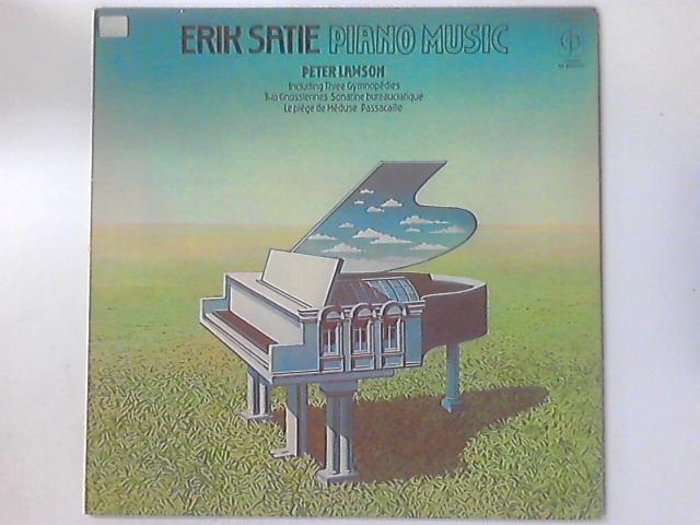 Piano Music by Erik Satie