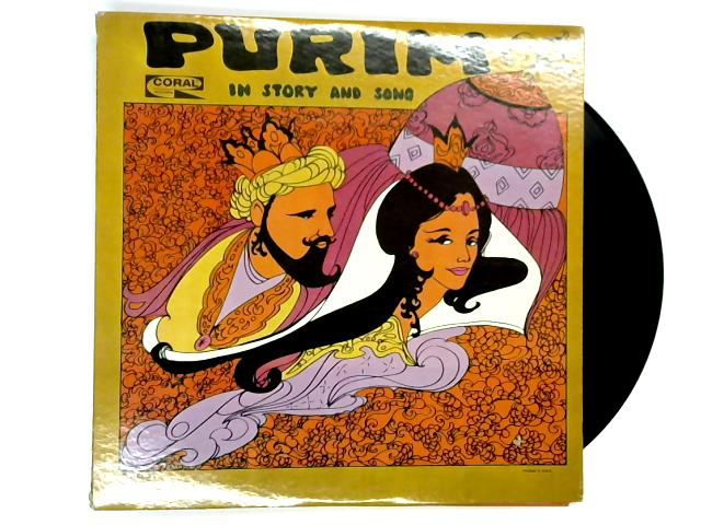 Purim In Story And Song LP by Rabbi Robert Schenkerman