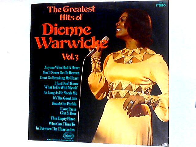 The Greatest Hits Of Dionne Warwicke Vol. 3 Comp by Dionne Warwick