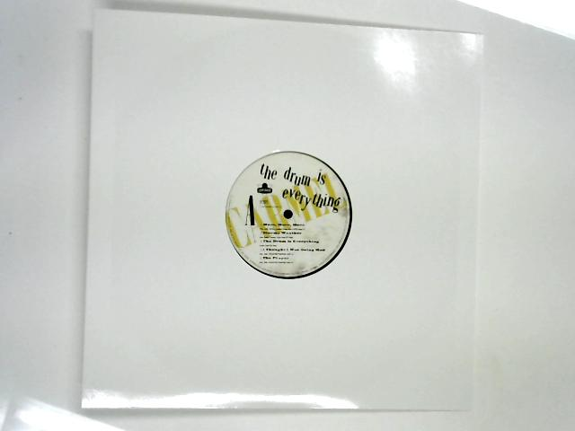 The Drum Is Everything LP 1st no slv by Carmel