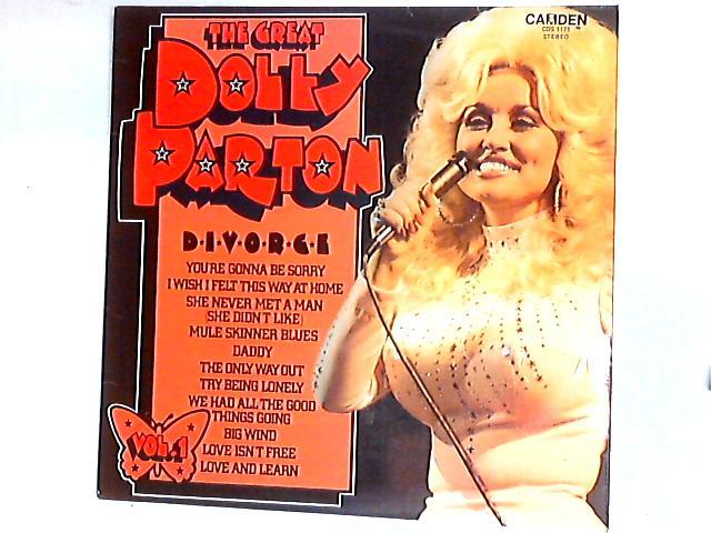The Great Dolly Parton Vol. 1 (D-I-V-O-R-C-E) Comp By Dolly Parton