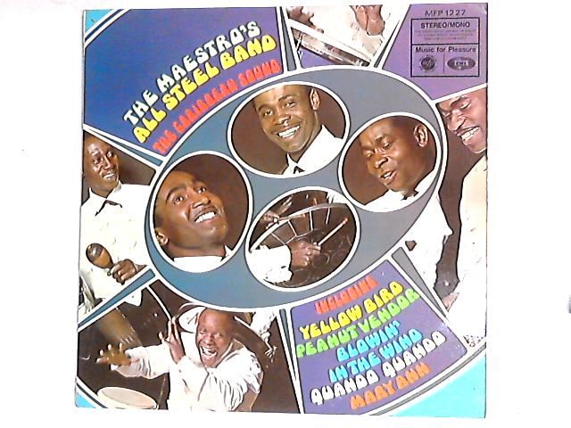 The Caribbean Sound LP by The Maestro's All Steel Band