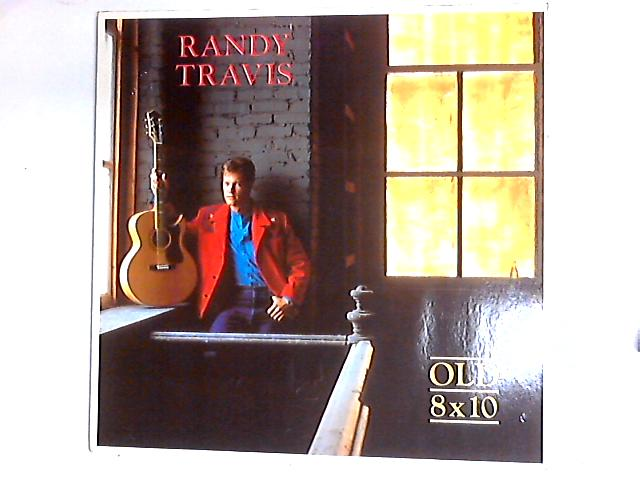 Old 8x10 LP by Randy Travis
