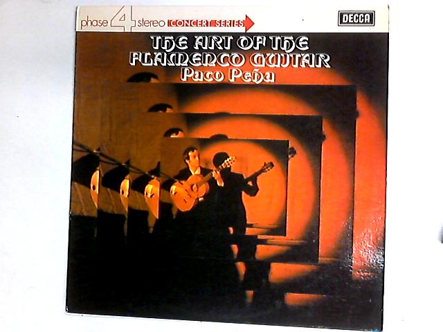 The Art Of Flamenco Guitar LP by Paco Pe