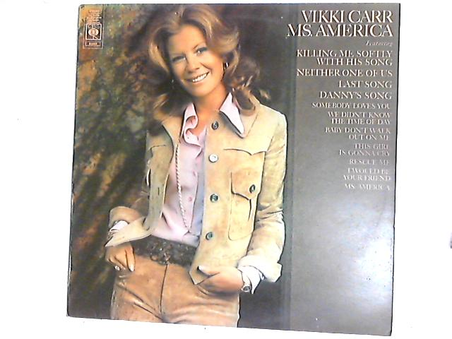 Ms. America LP by Vikki Carr