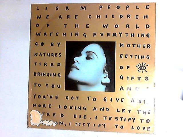 People (Remixes) 12in by Lisa Moorish