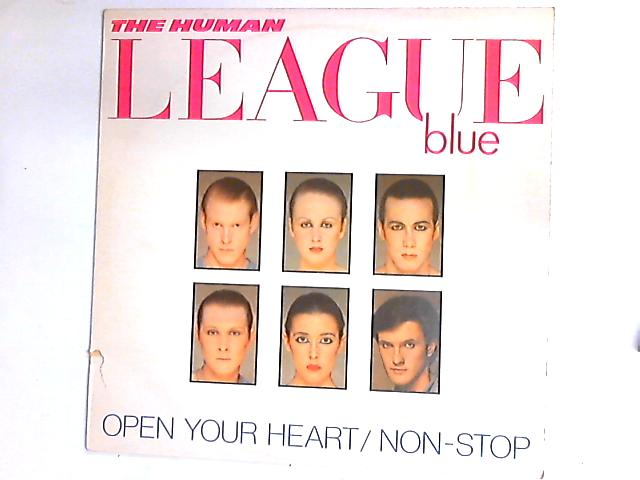 Open Your Heart / Non-Stop 12in by The Human League