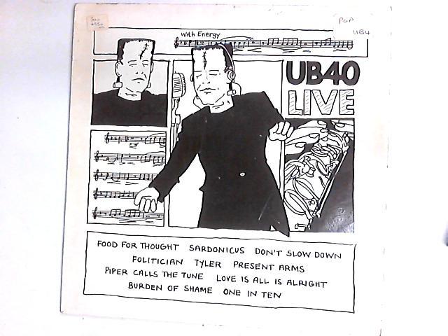 Live LP by UB40