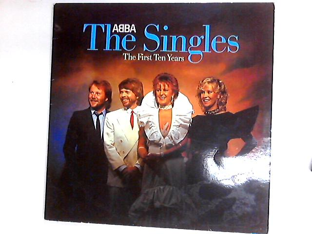 The Singles - The First Ten Years 2 x LP Comp by ABBA