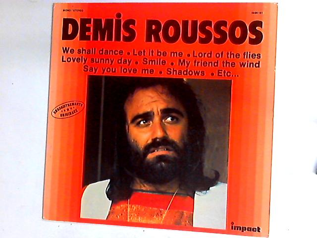 Demis Roussos LP By Demis Roussos