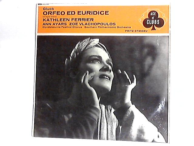 Orfeo Ed Euridice (Abridged Version) LP By Christoph Willibald Gluck