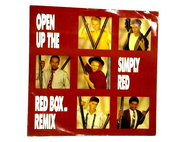 Open Up The Red Box 12in 1st by Simply Red