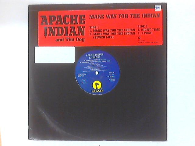 Make Way For The Indian by Apache Indian