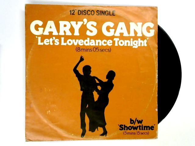 Let's Lovedance Tonight 12in 1st By Gary's Gang