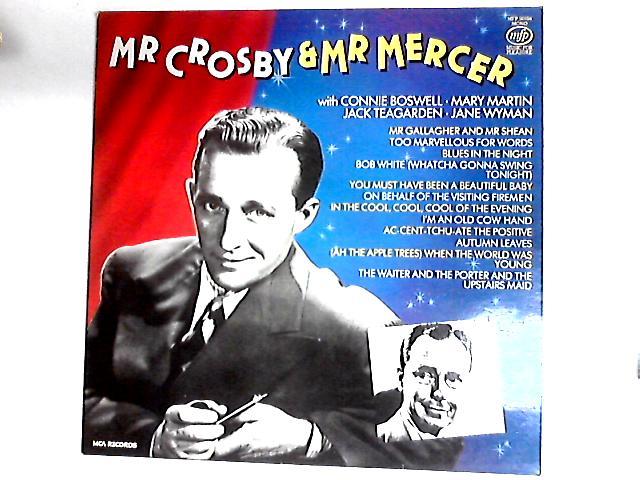 Mr Crosby & Mr Mercer Comp By Bing Crosby