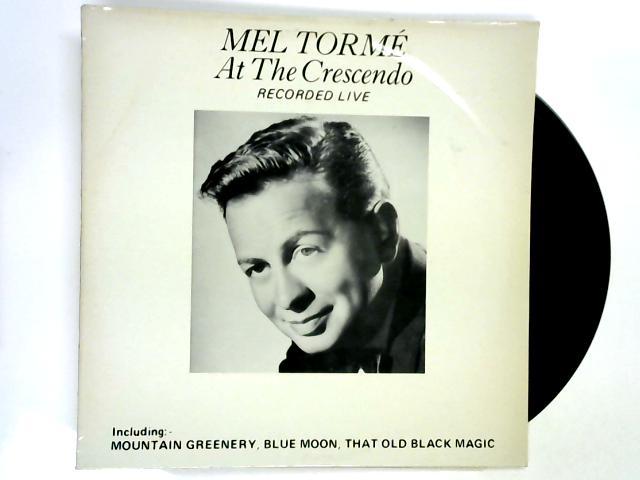 At The Crescendo LP 1st By Mel Tormé
