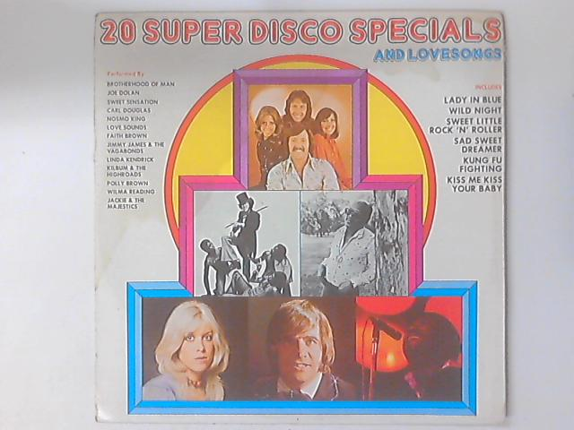 Super 20 Disco Specials & Love Songs by Various