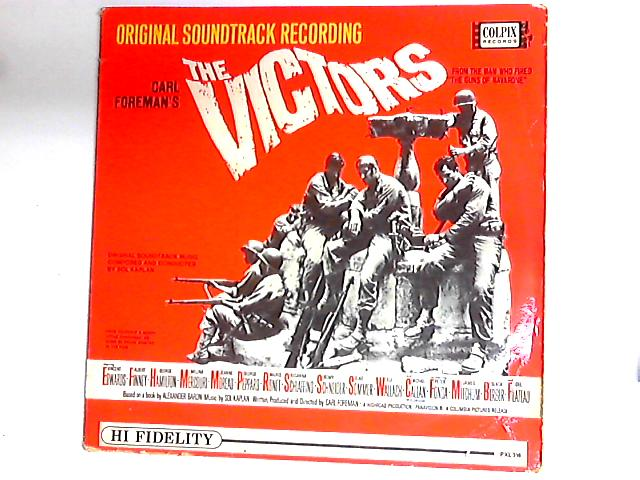 The Victors - Original Soundtrack Recording LP By Sol Kaplan