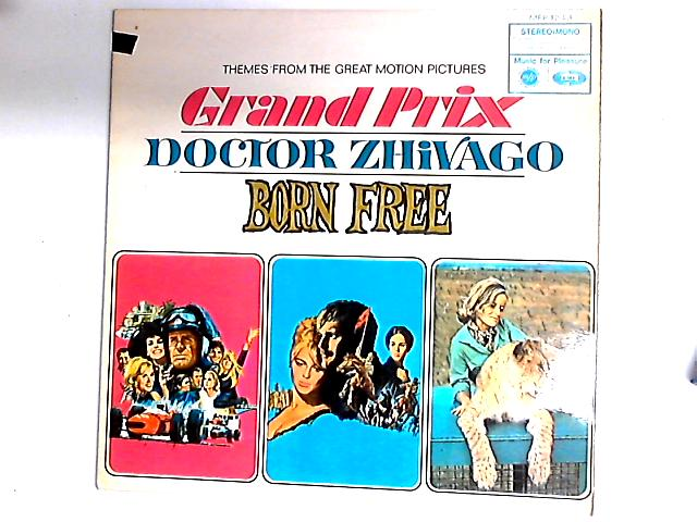 Themes From The Great Motion Pictures Grand Prix / Doctor Zhivago / Born Free Comp By Various