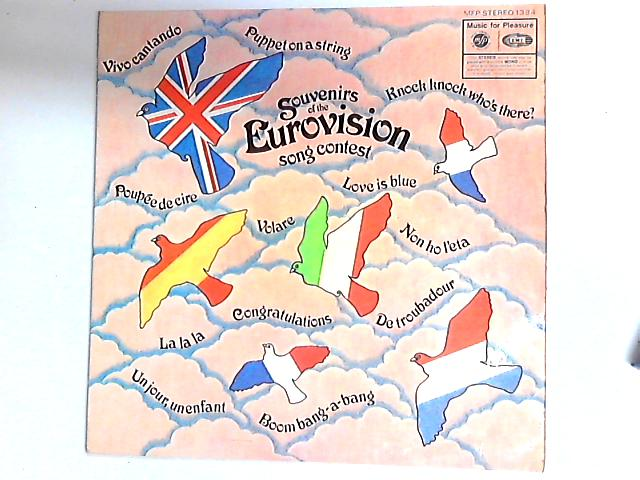 Souvenirs Of The Eurovision Song Contest LP by Unknown Artist