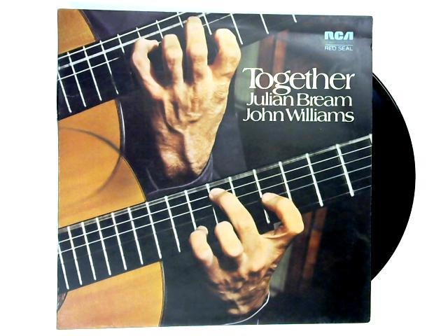 Together LP 1st by Julian Bream