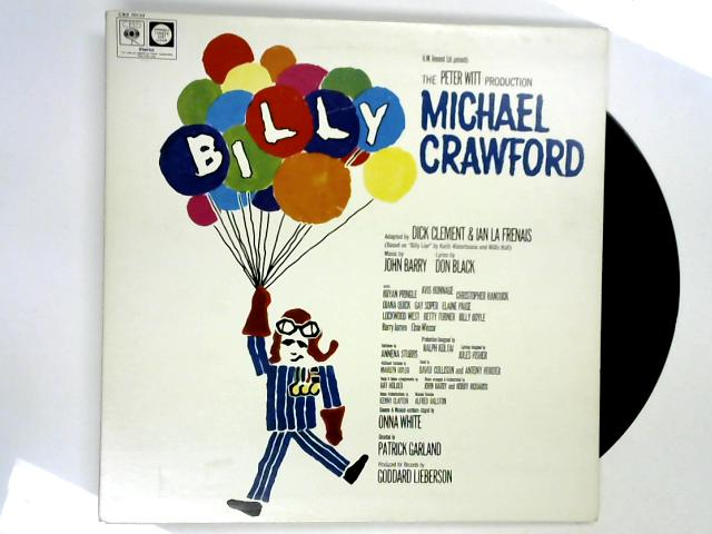 Billy — Original Cast Recording LP by Michael Crawford