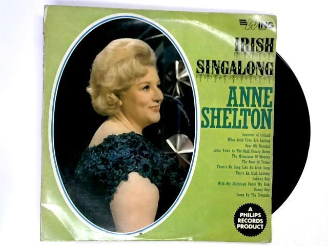 Irish Singalong LP 1st by Anne Shelton