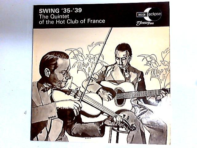 Swing '35-'39 LP by Quintette Du Hot Club De France