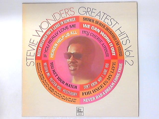 Stevie Wonder's Greatest Hits Vol. 2 by Stevie Wonder