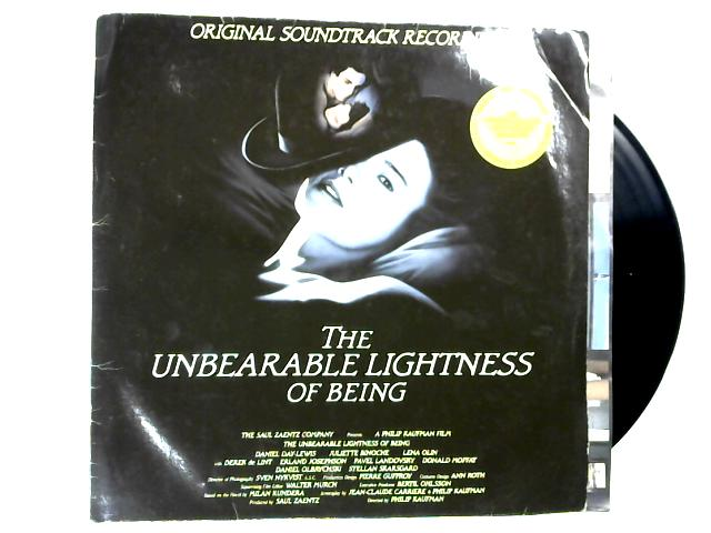 The Unbearable Lightness Of Being (Original Soundtrack Recording) LP 1st By Various