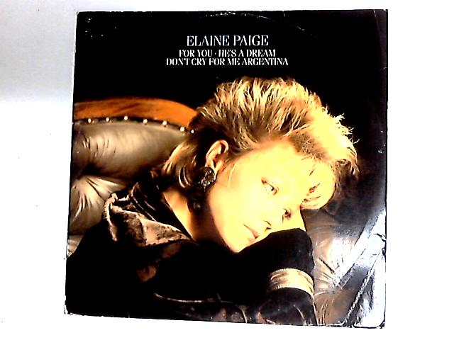 For You 12in by Elaine Paige