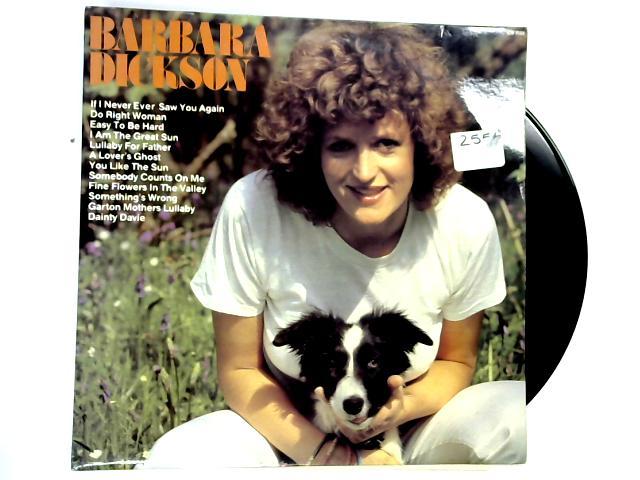 Barbara Dickson LP 1st By Barbara Dickson
