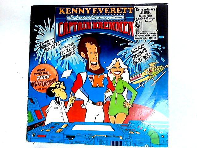 The Greatest Adventure Yet From Captain Kremmen LP by Kenny Everett