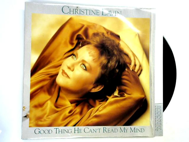Good Thing He Can't Read My Mind LP by Christine Lavin