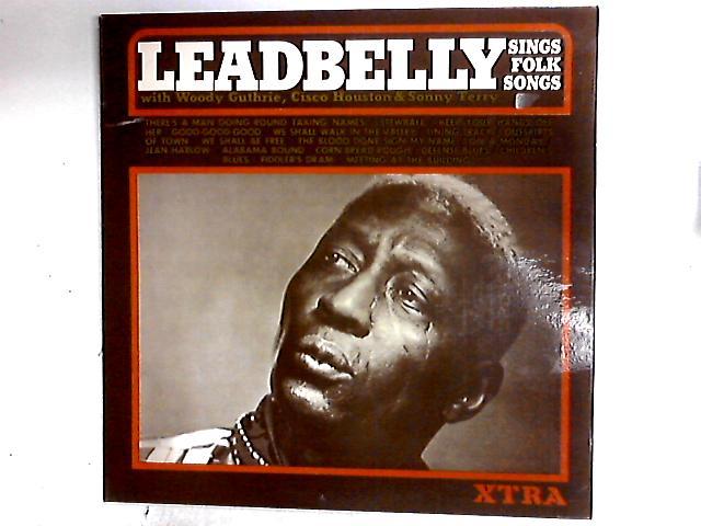 Sings Folk Songs LP by Leadbelly