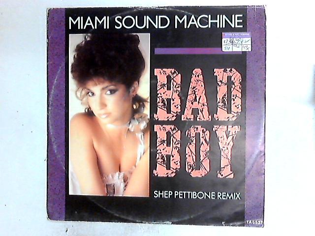 Bad Boy (Shep Pettibone Remix) 12in by Miami Sound Machine