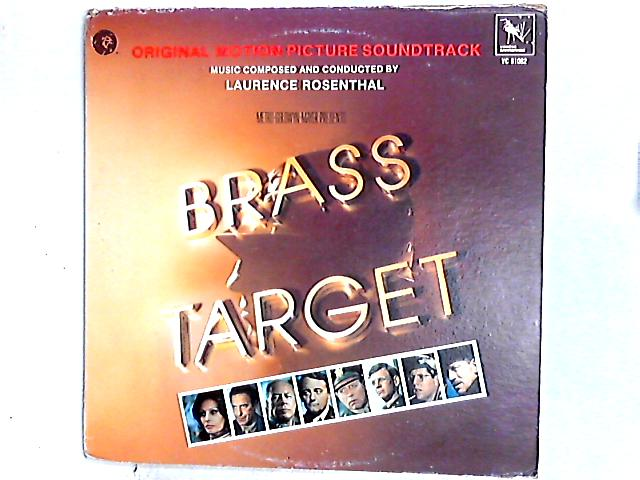 Brass Target - (Original Motion Picture Soundtrack) LP By Laurence Rosenthal