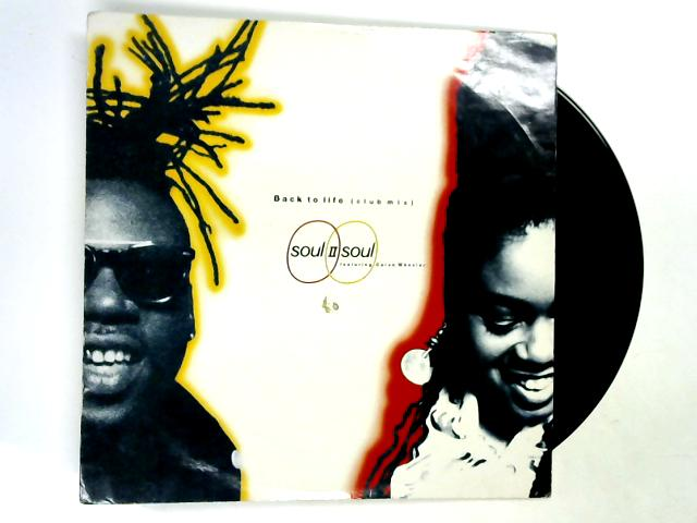 Back To Life (Club Mix) 12in by Soul II Soul