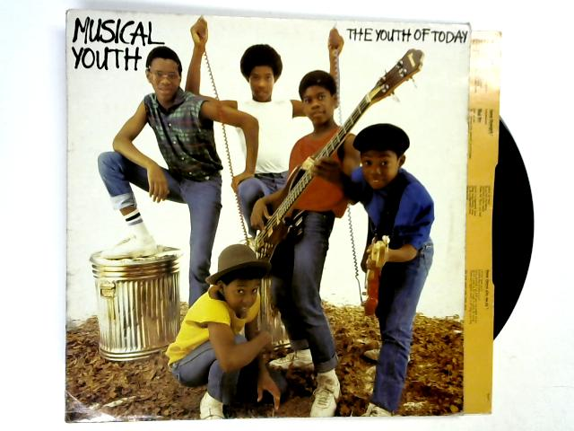 The Youth Of Today LP 1st by Musical Youth