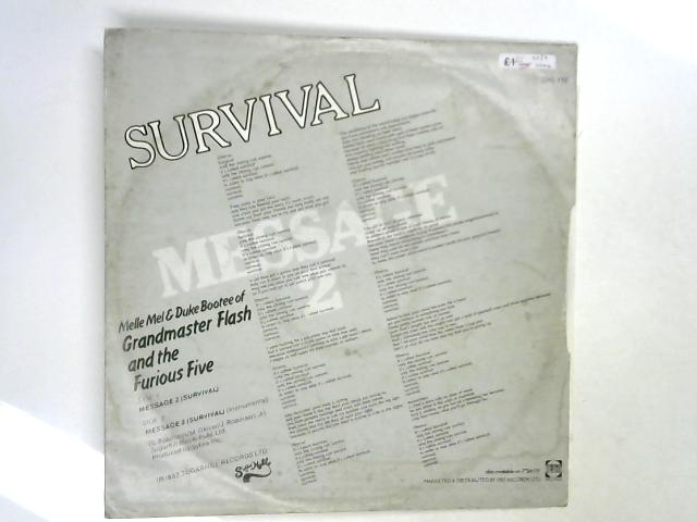 Message 2 (Survival) 12in 1st by Melle Mel