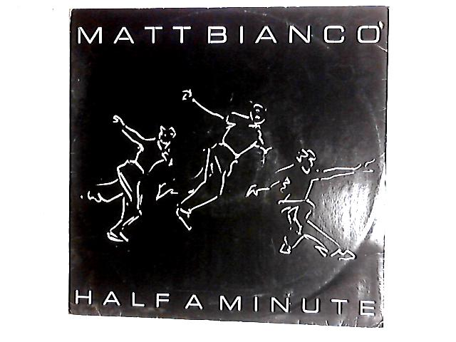 Half A Minute 12in by Matt Bianco