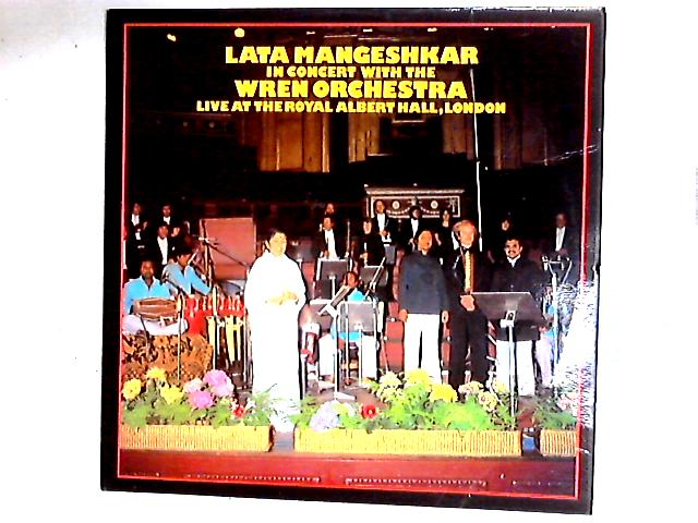 Live At The Royal Albert Hall, London LP by Lata Mangeshkar