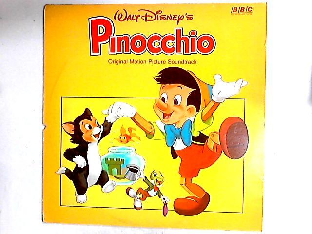 Walt Disney's Pinocchio LP by Unknown Artist