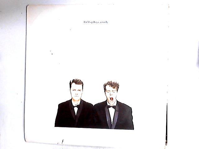 Actually LP by Pet Shop Boys
