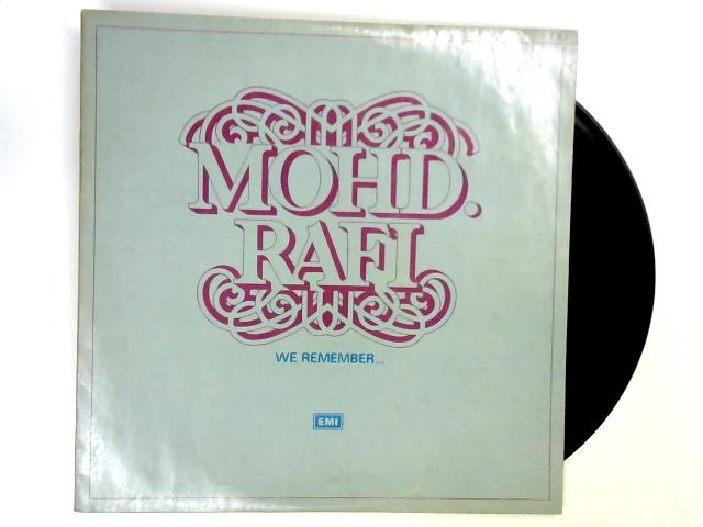 We Remember 2xLP 1st by Mohammed Rafi